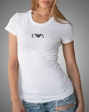 Emporio Armani E.A Womens White T shirt Slim fit size S*M