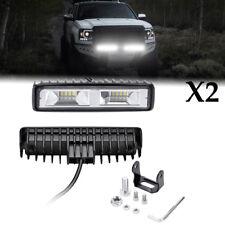 2Pcs 48W LED Work Light offroad Spotlight Headlight lamp ATV Car Truck DC 12V