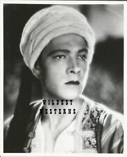 RUDOLPH VALENTINO Vintage PHOTO rare TURBAN