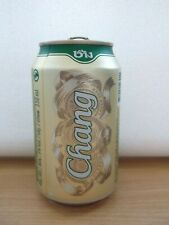 CHANG CLASSIC empty beer can from THAILAND 2020 top opened 330ml