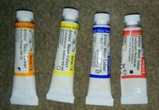 Winsor & Newton Artists Water Color Tubes 4x 5mL