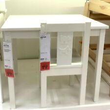 IKEA KRITTER Kinderstuhl Stuhl Kinderzimmer Holzstuhl weiß Sitzhöhe 30cm NEU&OVP