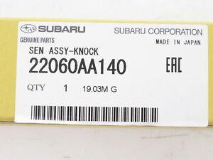 Subaru 22060AA140 Detonation Knock Sensor Genuine OEM New