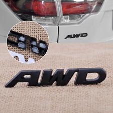 Black Car AWD Metal Emblem Sticker Badge for 4 Wheel Drive SUV Off Road Truck