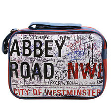 PLAN B - RED ABBEY ROAD REPORTER/MESSENGER BAG