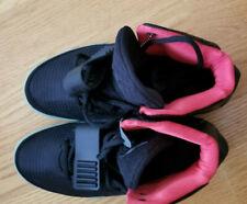 NIKE AIR YEEZY 2 BLACK/BLACK SOLAR RED 508214 006 Size 8.5