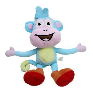 Dora The Explorer Monkey Boots Plush Soft Stuffed Animal Toy Washed Clean 32cm