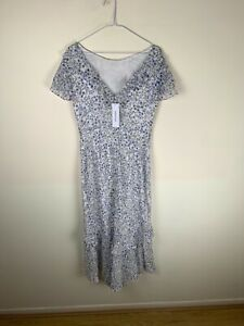 Forever New Josephine Flutter Sleeve Maxi Dress RRP£110 UK8