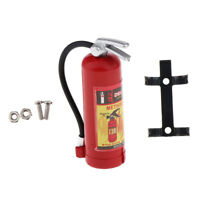 1/10 Scale Dollhouse Miniatures Plastic Fire Extinguisher Miniature Tool Red