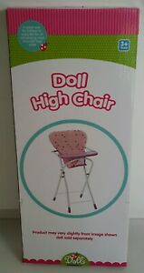 DOLL'S DOLL HIGH CHAIR PRELOVED