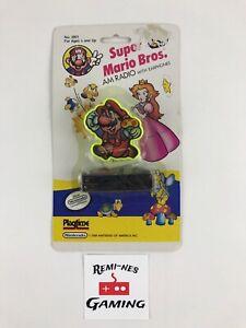 Vintage 1989 Nintendo Super Mario Bros AM Radio W/ Earphones