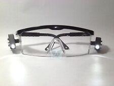 Medical Dental Industrial Protective Safety Adjustable Goggles Glasses LED Light