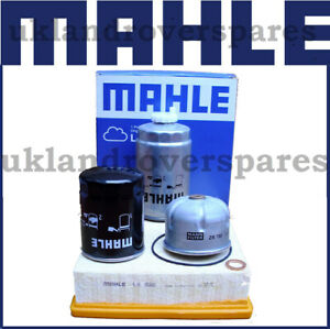 LAND ROVER TD5 DISCOVERY & DEFENDER COMPLETE OEM SERVICE KIT MAHLE MANN FILTERS