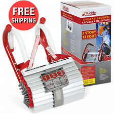 13 Feet Home Emergency Portable Fire Safety Escape Comp 00004000 act Ladder 2 Story House