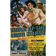 Roar of the Iron Horse - Classic Cliffhanger Serial Movie DVD Jock O'Mahoney