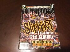 Vintage Hit Parader Mag, Sept 2008 !!Slipknot,Down,Soil,Lacuna,Evenescence,NIN