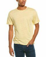 Vince Crewneck Linen T-Shirt Men's
