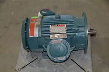 Reliance XEX Severe Duty Master AC Motor 5 HP 1750 RPM 3PH 460V 6.1A TEFC L184TD