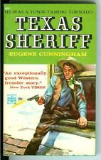 TEXAS SHERIFF by Cunningham, rare US Pop Library Eagle western pulp vintage pb