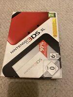 🥰 Console de jeux new Nintendo 3ds xl rouge 3ds double écran neuf neuve pack