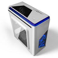 GAMING PC COMPUTER DESKTOP CIT LIGHTSPEED INTEL QUADCORE 4GB RAM 250GB 1GB GT710