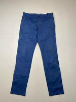 TOMMY HILFIGER CHINO Trousers - W32 L32 - Blue - Great Condition - Men's