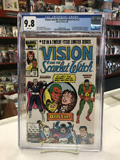 VISION and the SCARLET WITCH V2 #12 (Comics, 1986) CGC 9.8 ~ White Pages