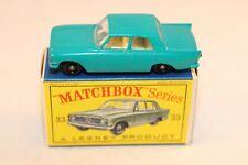 Matchbox Lesney 33 Ford Zephyr III BPW perfect mint in box all original
