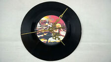 "LED ZEPPELIN Houses Of The Holy 7"" VINYL Single  Wall Hanging Clock (Gift Xmas)"