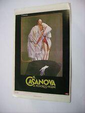 IL CASANOVA - RARO CINEADESIVO 9,5X15 CM - NUOVO - FEDERICO FELLINI