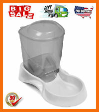 Automatic Feeder Pet Dog Cat Food Auto Dispenser Bowl 3-Pound Capacity Removable