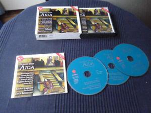 3xCD Verdi AIDA Leontyne Price Placido Domingo Milnes LSO Leinsdorf Remastered