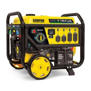 100416- 8000/10,000w Champion Tri Fuel Generator