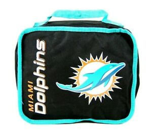 NFL Miami Dolphins Sacked Insulated Lunch Cooler Multi Color Keeps Food Hot/Cold