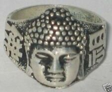 WONDERFUL Beautiful Unisex Tribal Tibet silver Buddha ring AND GIFT ADDED