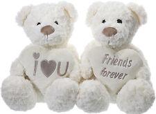 """Plüschbär """" I love you"""" oder """"friends for ever"""" - 20 cm"""