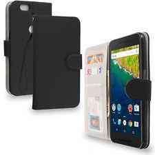 Plain Card Pocket Wallet Cases for Huawei Mobile Phones