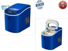 Igloo Compact Portable Ice Maker Blue Capable of Producing 26 Lb Led Controls