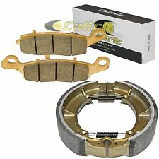FRONT BRAKE PADS REAR BRAKE SHOES FIT KAWASAKI VULCAN 800 CLASSIC VN800B 1996-05