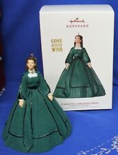 Hallmark Gone With the Wind Ornament Scarlett's Christmas Dress 2019 Green Gown