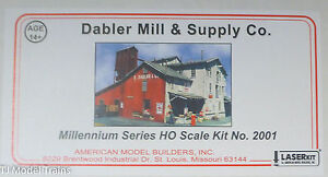 American Model Builders #2001 Dabler Mill & Supply Co. (kit) Large kit