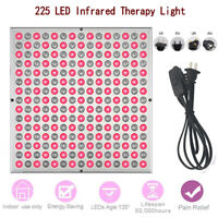 45W 225LED Therapy Red Light Panel 660nm 850nm Infrared Therapy Lamp Anti-Aging