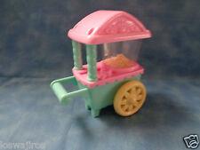 "My little Pony Hasbro 2002 Popcorn Fun Ponyville Replacement Popcorn Cart 5"""