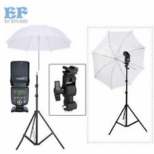"Studio Lighting kit YN-560 IV Flash Light Stand Bracket 33"" Umbrella for Canon"