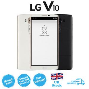 NEW LG V10 H961N Storage 64GB RAM 4GB Camera 16MP Screen 5.7' SIM Free