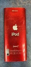 Apple iPod Nano RED A1320 5th Gen Faulty Free Postage Uk