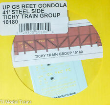 Tichy Train Group #10180 Decal for: Union Pacific GS Steel Gondola Sugar Beet