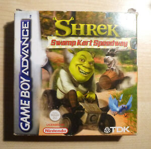 Gameboy Advance GBA  SHREK: SWAMP KART SPEEDWAY - Boxed with Manual - Complete.