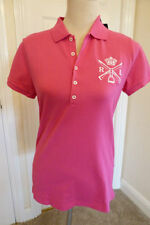 Ralph Lauren V Neck Patternless Plus Size T-Shirts for Women