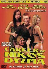 Kariera Nikosia Dyzmy / Career of Nikos Dyzma (DVD) NTSC Pazura POLSKI POLISH